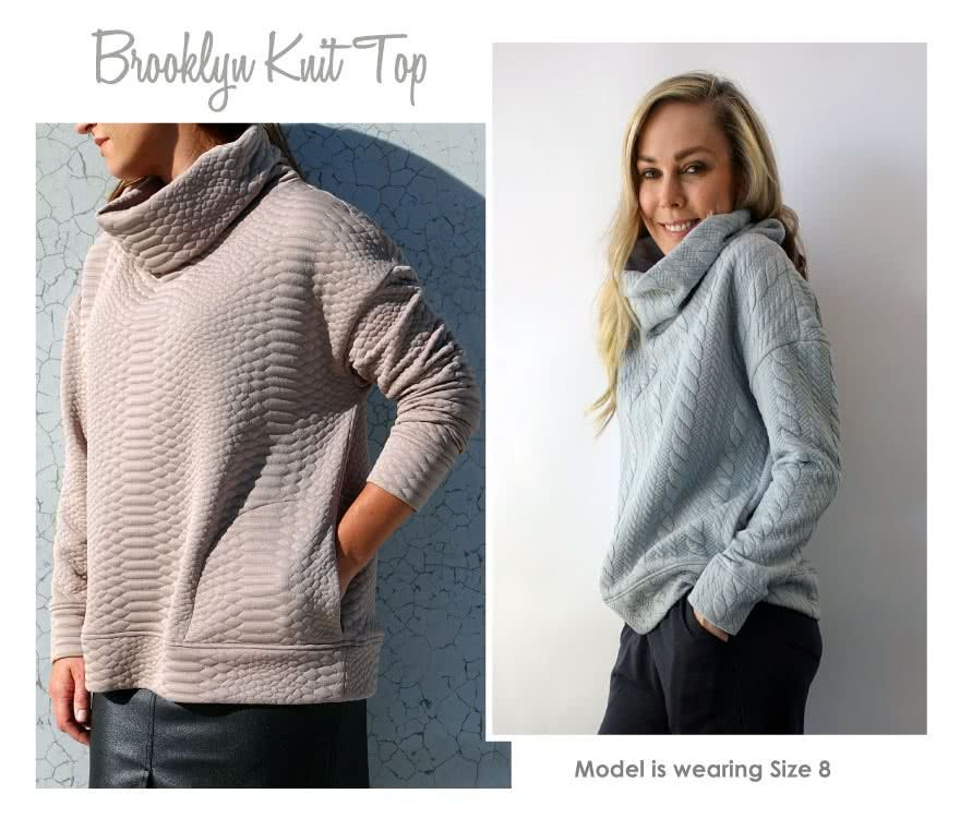 Brooklyn Knit Top PDF