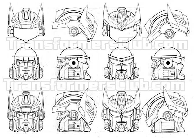 Full Preview of Transformers Collectorsu0027 Club Punch Counterpunch - new robot blueprint vector art