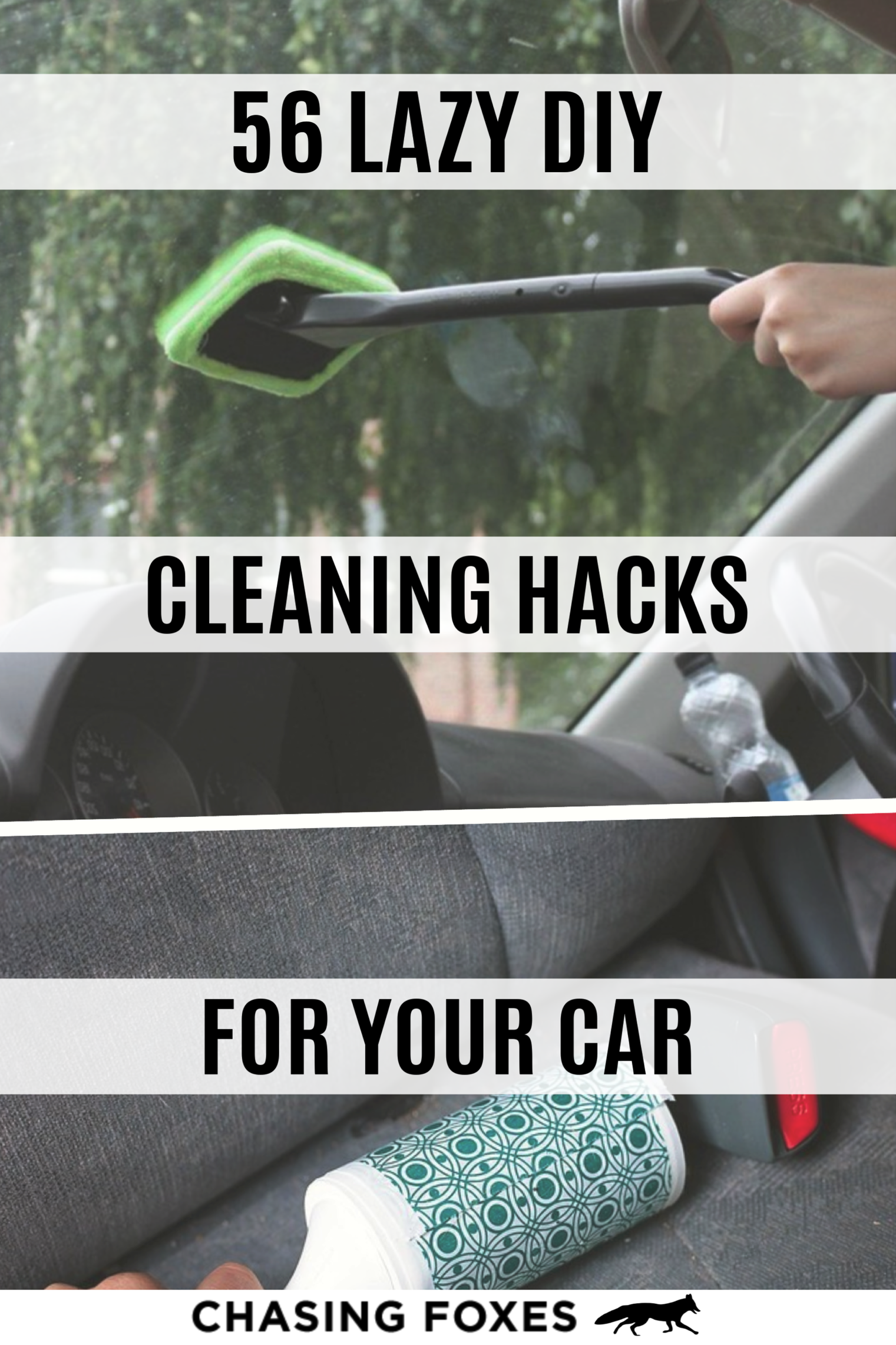 56 Car Cleaning Hacks