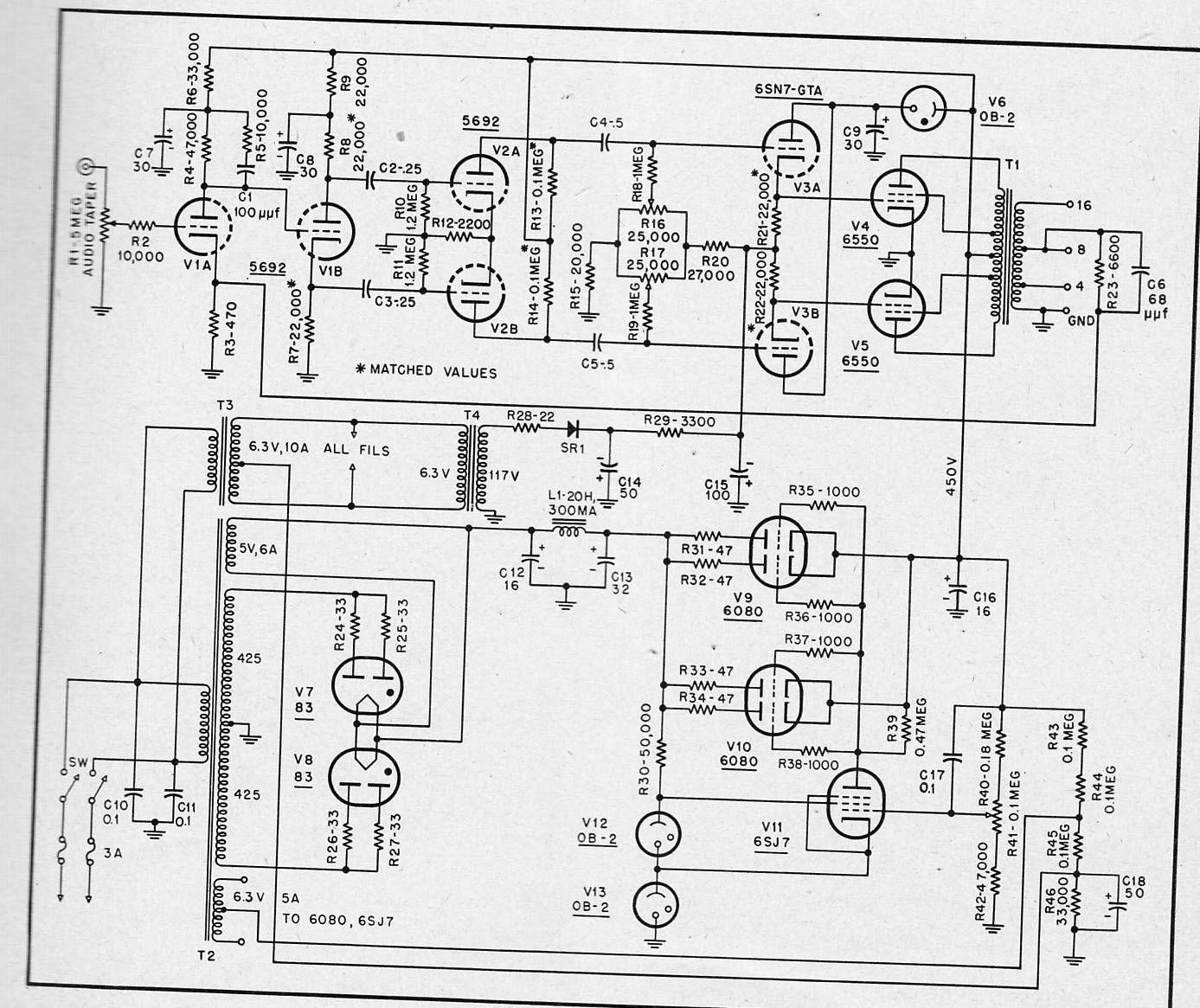 6550_hifi_amp | Valve amplifier, Vacuum tube