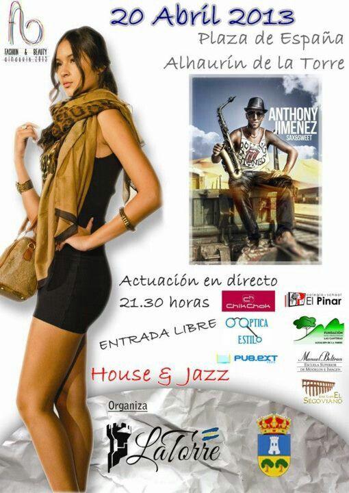 20 de Abril. Anthony Jiménez el mejor house-jazz