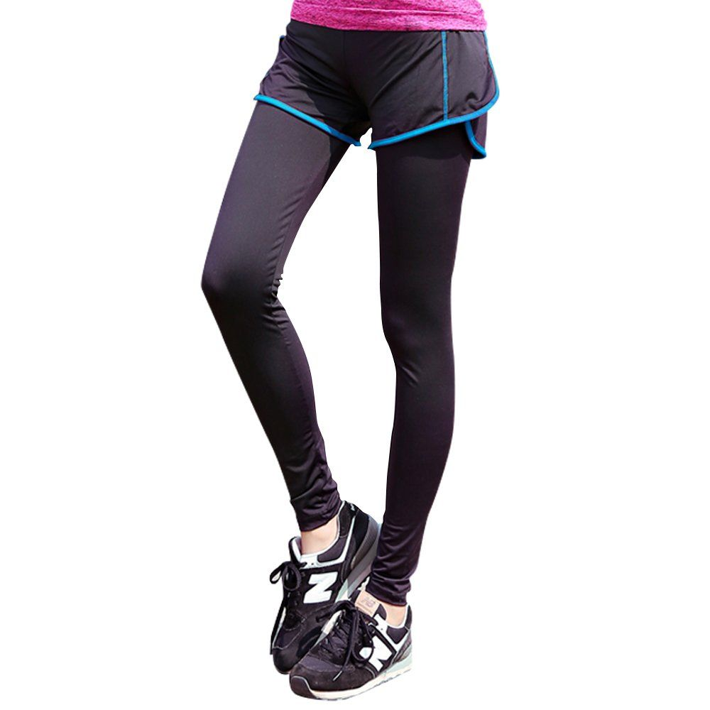 Active Athletic Sports Stretch Leggings Workout Pants Tights