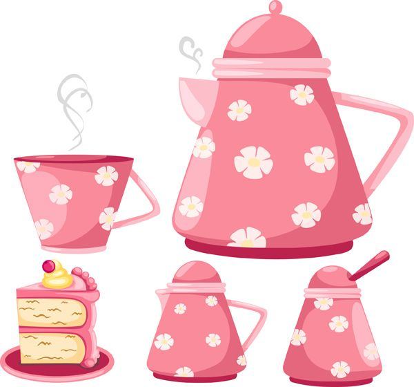 Cartoon Tea Pot Sets Cartoon Tea Pots Cartoon Tea Cups Cartoon Kitchen Items Tea Pot Set Tea Pots Tea Party