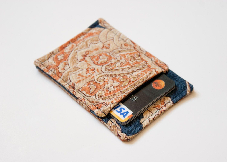 Front pocket wallet - Business card holder - Business card case ...