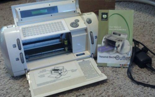 Original Cricut Personal Cutter Machine Provo Craft For Crafts