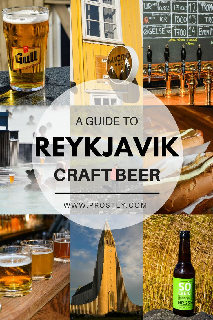 Reykjavik Is The Heart Of The Iceland S Craft Beer Scene One That