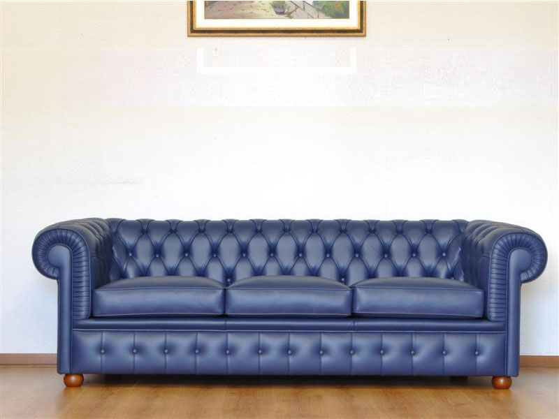 Blue Chesterfield #Sofa
