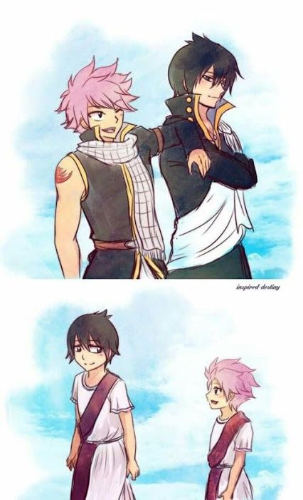 Zeref and Natsu Dragneel | Fairy Tail | Fairy tail, Fairy tail