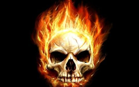 Download Flaming Skull Ipad Wallpaper In High Resolution Free For Your New Ipad High Definition Backgrounds New Ipa Skull Wallpaper Skull Fire Skull Pictures