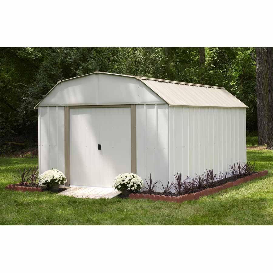 arrow 10 x 12 barn roof storage building sr1012 lawn garden - Garden Sheds 8 X 14