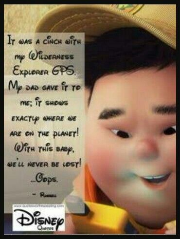 Russell Up Disney Pixar Quotes Disney Quotes Quotes