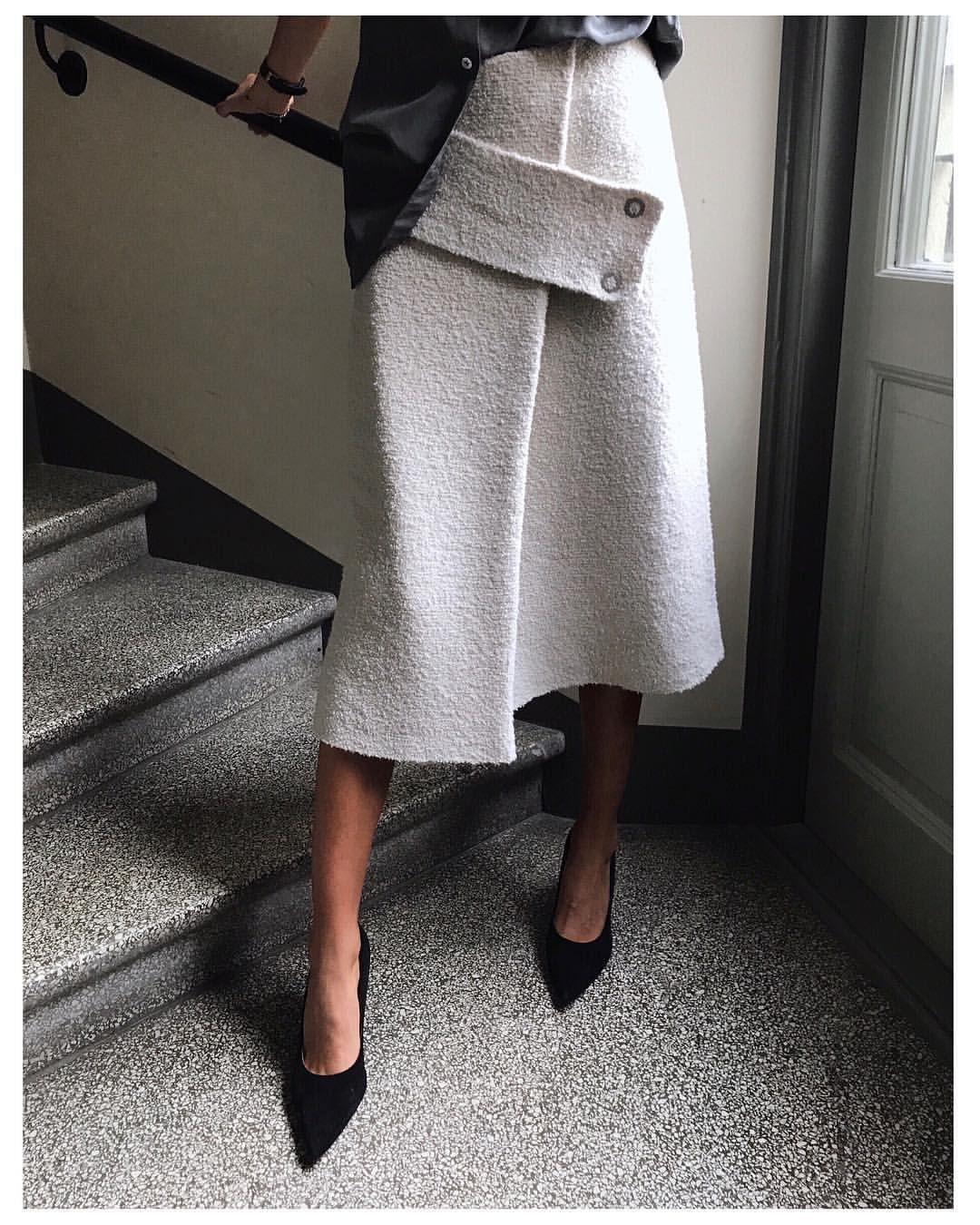 5c1d685db51 Pin by Natasa Guskic on Style | Fashion, Skirts, Minimalist fashion