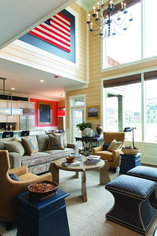 Dream Living Room Designs: Westchester Magazine's American Dream Home 2012