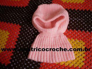 Ana Maria tricoecrochebebe -: Touca com pala em trico com receita