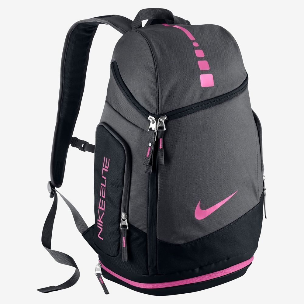 dec437bbcf4 NIKE AIR MAX HOOPS ELITE BACKPACK THINK PINK KAY YOW BASKETBALL TEAM BA4880  006   Clothing, Shoes   Accessories, Unisex Clothing, Shoes   Accs, ...