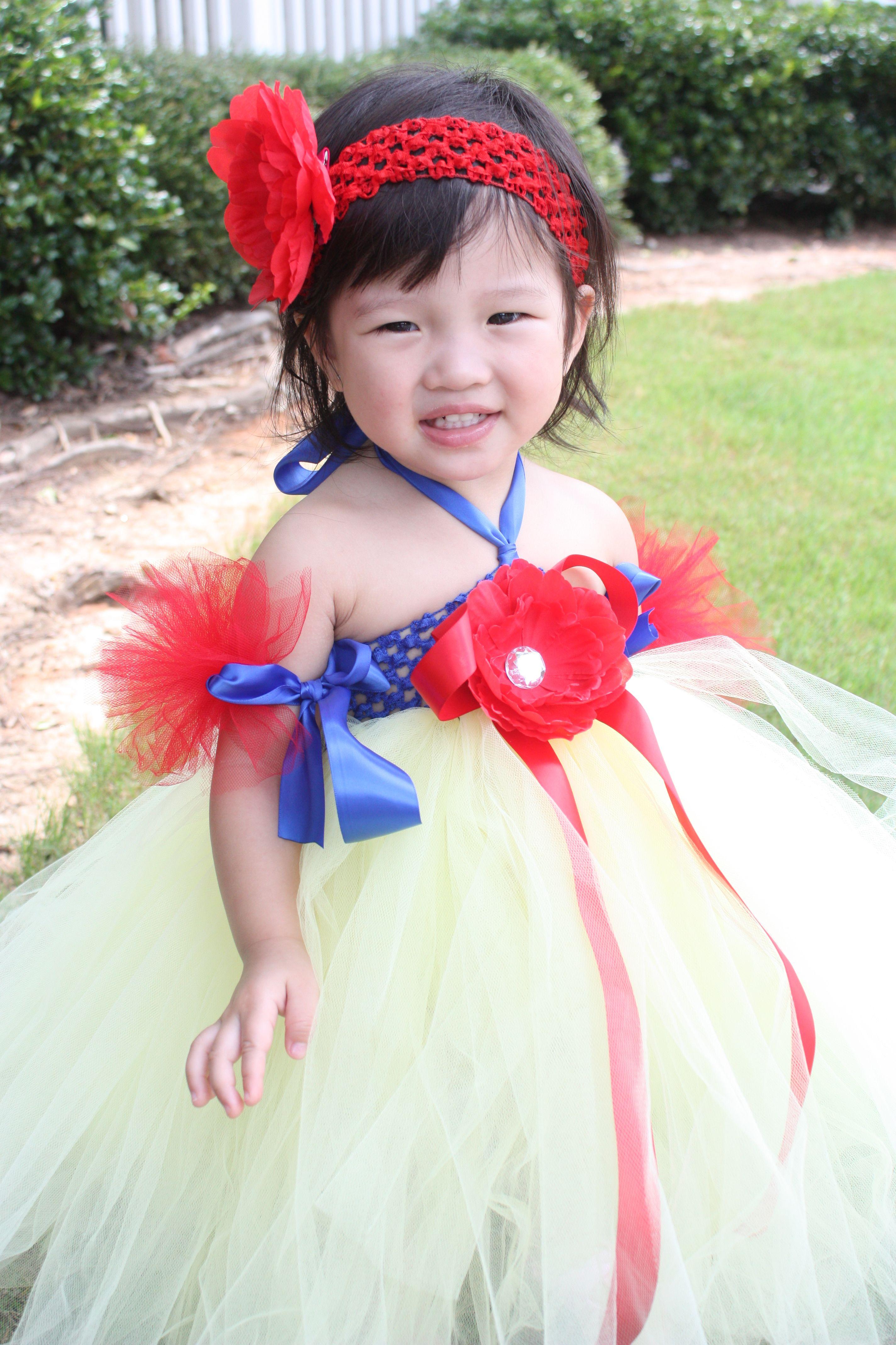 Snow white diy costume diy halloween costumes pinterest kid snow white diy costume solutioingenieria Images