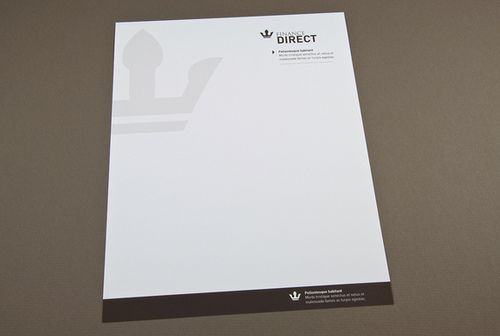 Finance Company Letterhead  Professional Letterhead Letterhead