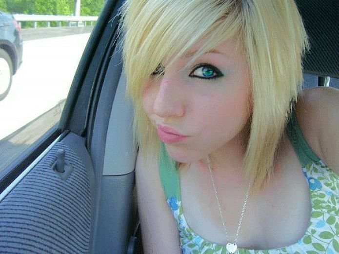 Sensational 1000 Images About Hairstyles On Pinterest Emo Hairstyles Side Short Hairstyles Gunalazisus