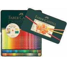 Crayon Polychromos Boite Metal 120 Ref 74312 Faber Castell
