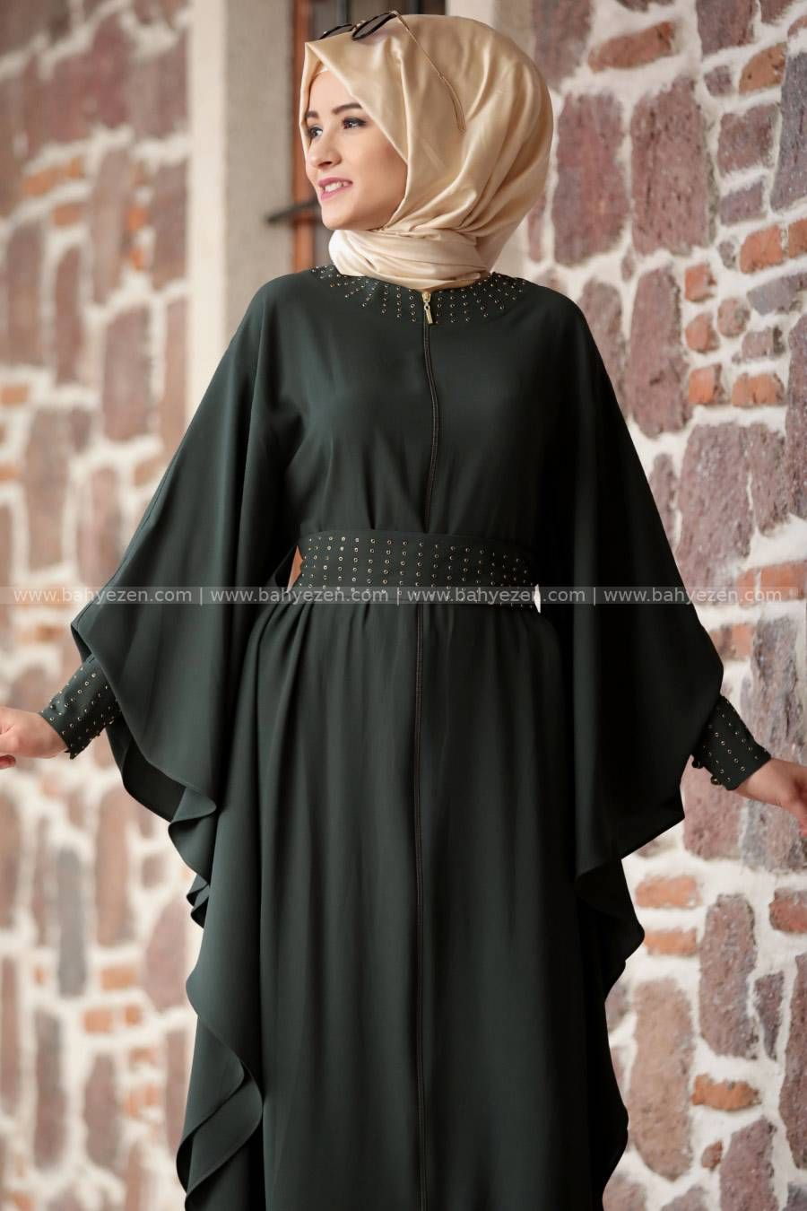 Tesettur Tesettur Giyim Abiye Elbise Ferace Bahyezen Elbise The Dress Giyim