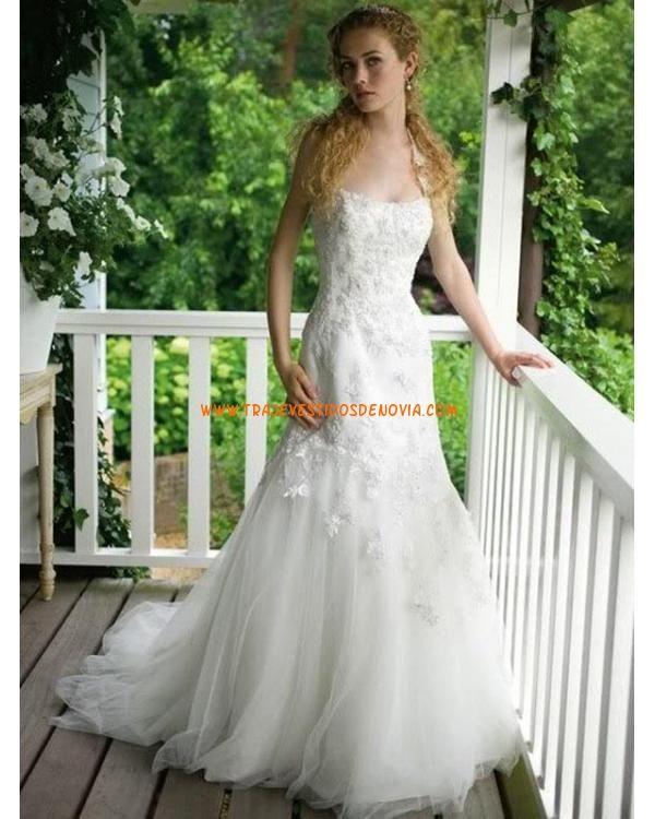 Tul Vestido de boda al aire libre 2012   vestidos de novias famosas ...