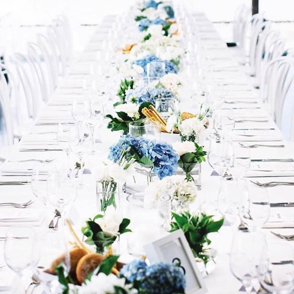 Yacht wedding decoration ideas  Gorgeous all white styling with a touch of colour  Wedding Styling