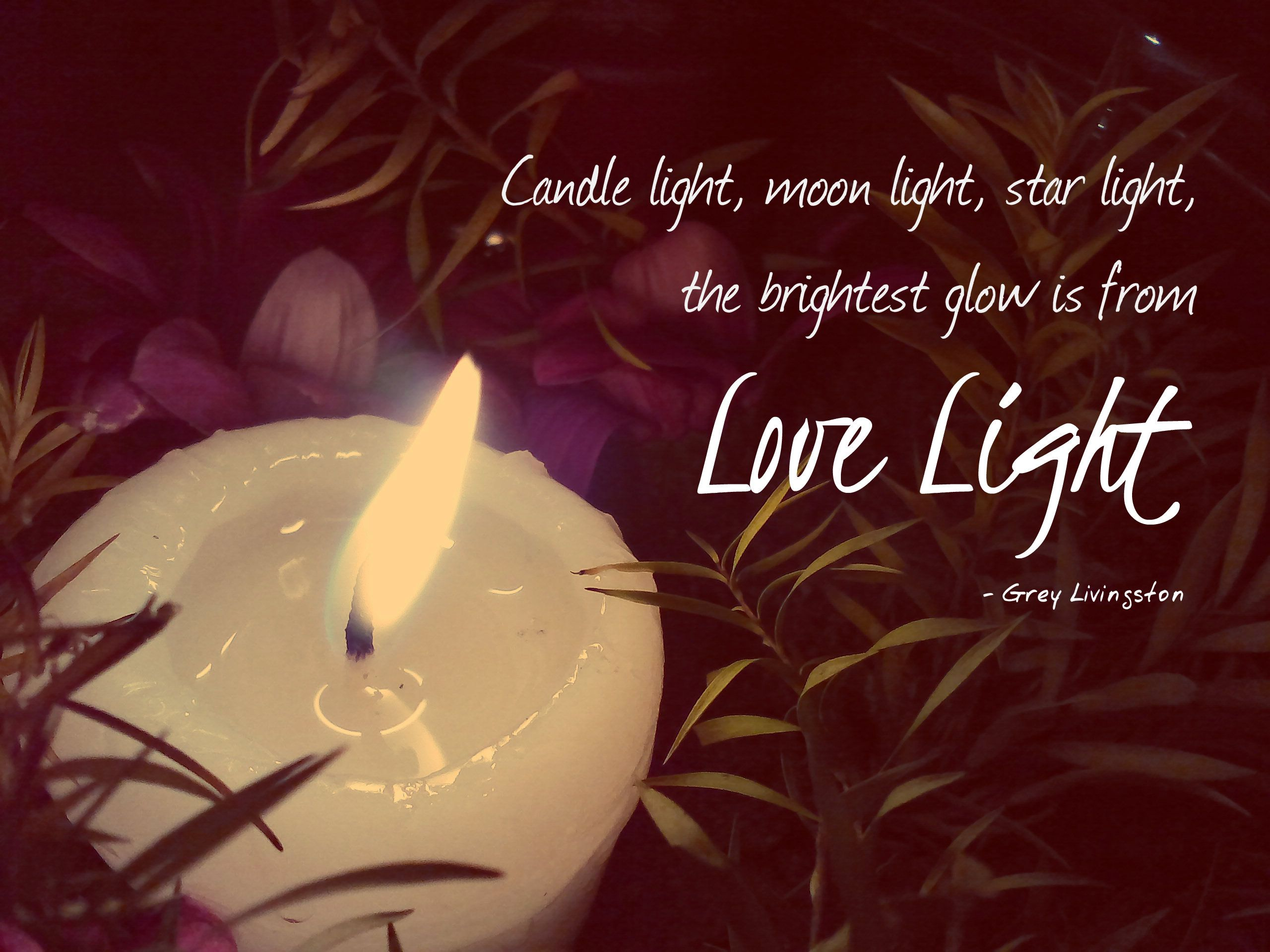 Feb 15 Photo Quote Of The Day Love And Light Photo Quotes Candlelight
