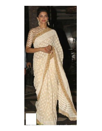 Stealer deal => Deepika Padukone Com Silk Georgette Saree @ Rs.1,530   GRAB at => http://bit.ly/1cYcmCQ  #bonanzaoffers