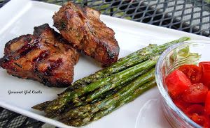 Greek Style Marinated Grilled Lamb Chops