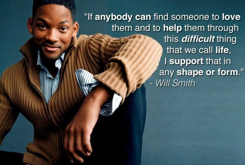 Gay Marriage Quotes Awesome Will Smith On Gay Marriage  Randomness  Pinterest  Love S And . Decorating Inspiration
