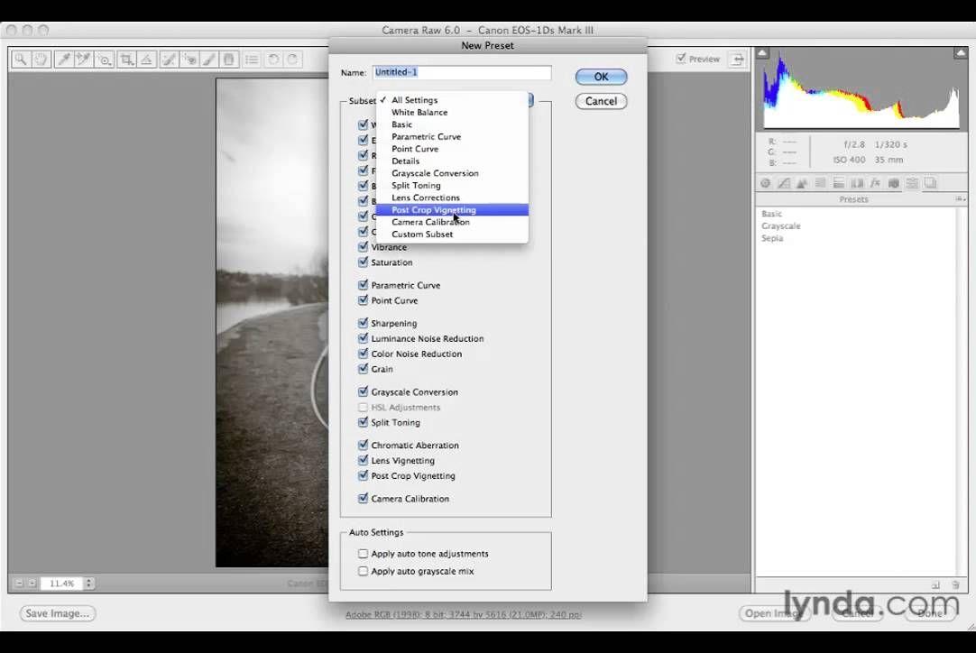 Photoshop Cs5 Tutorials 9 Automating Camera Raw 3 Save Presets Photoshop Cs5 Tutorials Photoshop Cs5 Photoshop