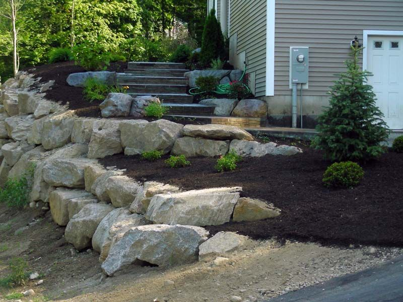 Pin By Sam Iam On Retaining Wall Ideas Wall Outdoor