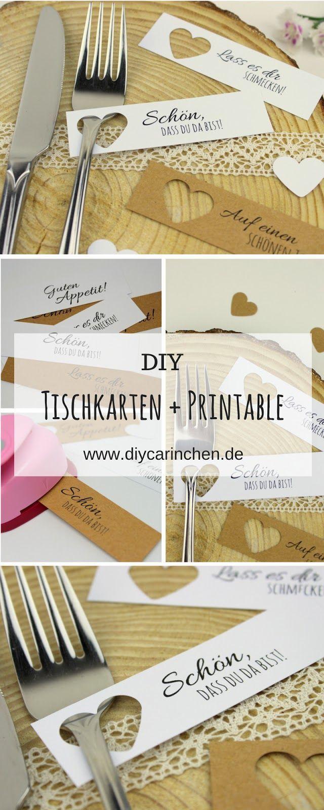Diy Tischkarten Ganz Einfach Selber Machen 5 Kostenlose Vorlagen Ideal Fur Die Perfekte Hochzeit Diy Ba In 2020 Diy Place Cards Diy Table Cards Wedding Templates