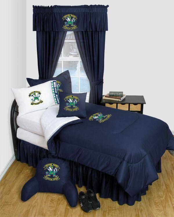 Notre Dame Fighting Irish Locker Room Bedding Collegiate