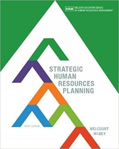 Strategic human resources planning 6th canadian edition by monica strategic human resources planning 6th canadian edition by monica belcourt isbn 13 978 0176570309 pdf fandeluxe Choice Image