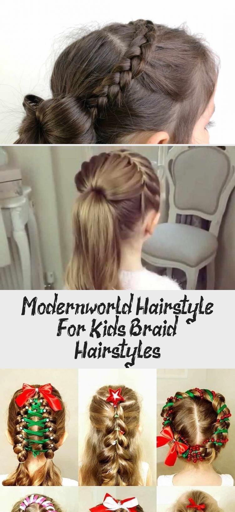 Modern-World Hairstyle For Kids: Braid Hairstyles » Hairstyles 2019 #babyhairstylesCrown #Smallbabyh...
