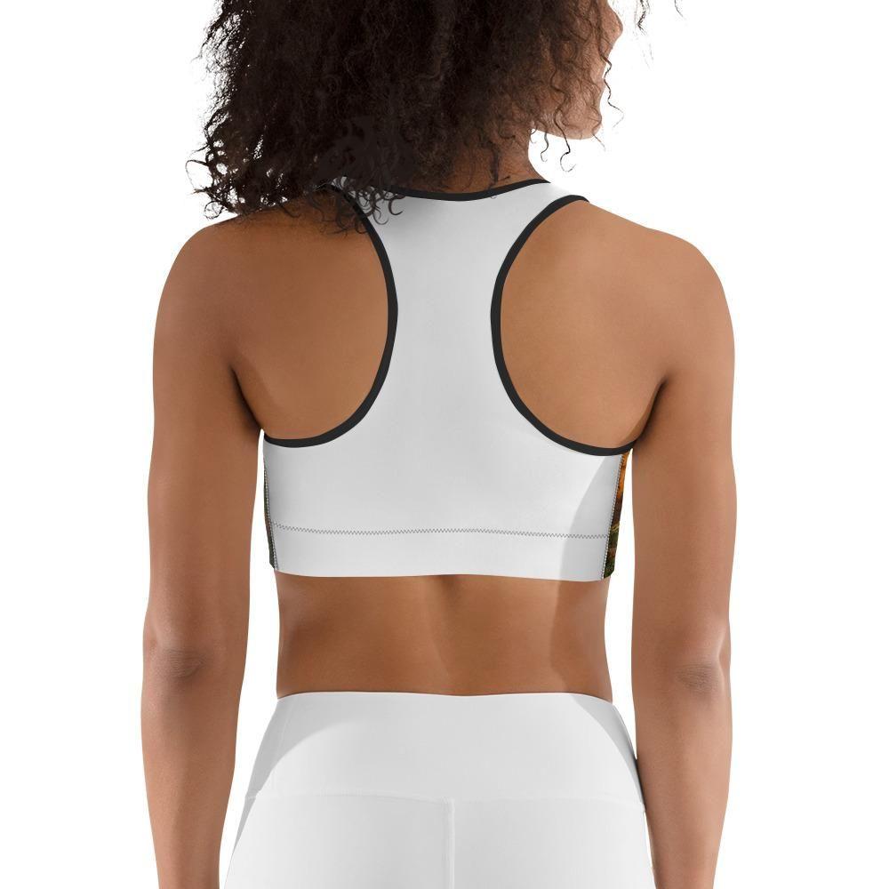 Red Rocks Sports bra - Black / XL