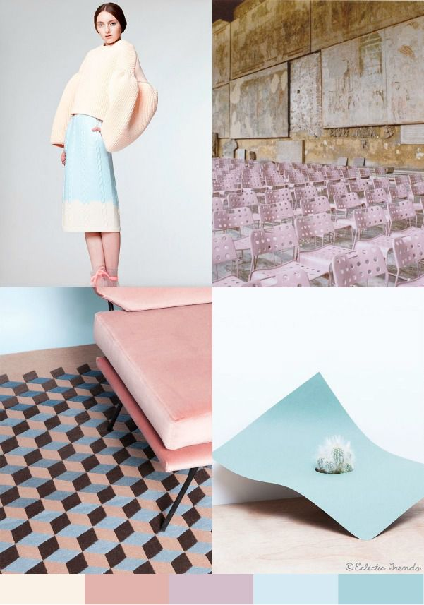 pastel trend1 duy Pinterest Candy colors, Pastels and Mood boards - interieur trends im sommer inspiration bilder