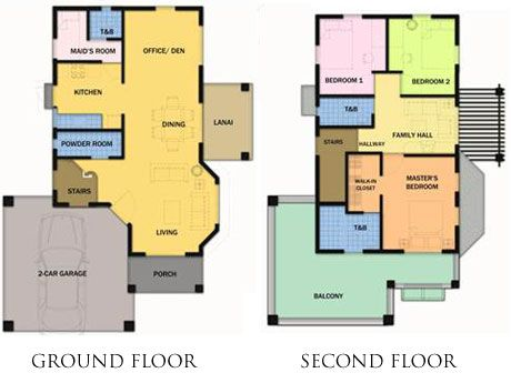 The Ruby unit sits on a minimum lot area of 150 sq.m. and a floor ...