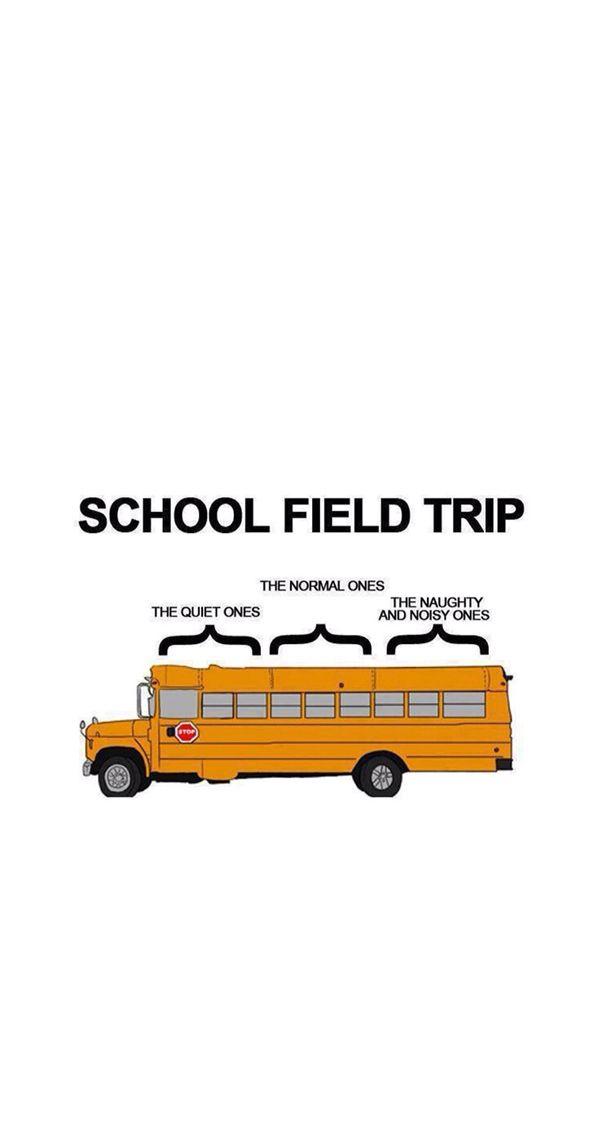 Iphone 5 Wallpaper School Bus With Images School Field Trip