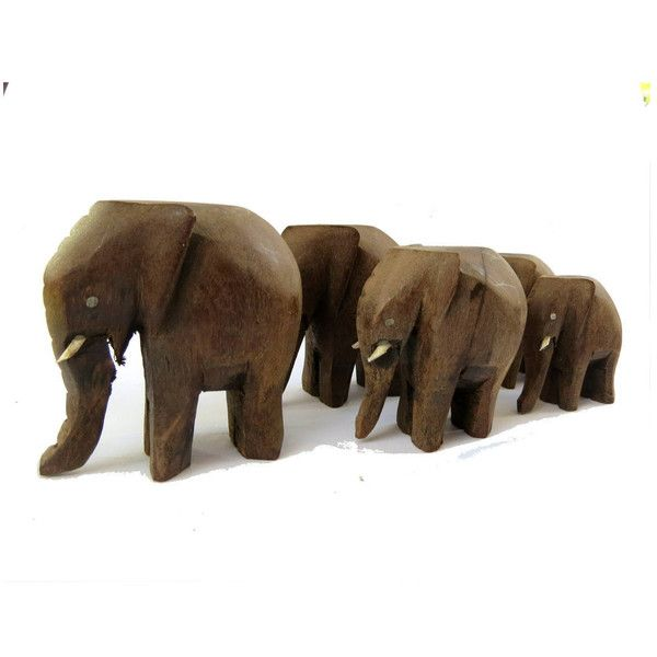 African vintage. African decor. Elephants set. African ... - photo#17
