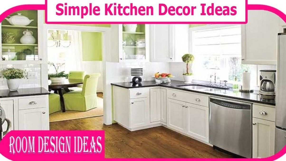Awesome Simple Decor Kitchen