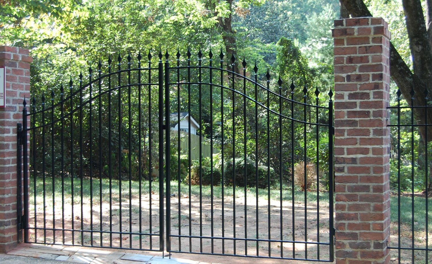 Use Indital Wrought Iron Bars Spear Points And Finials To Make A