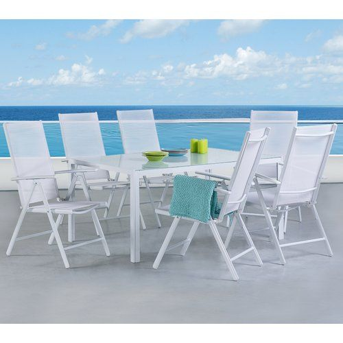 Canter 6 Seater Dining Set Home Loft Concept Outdoor Patio
