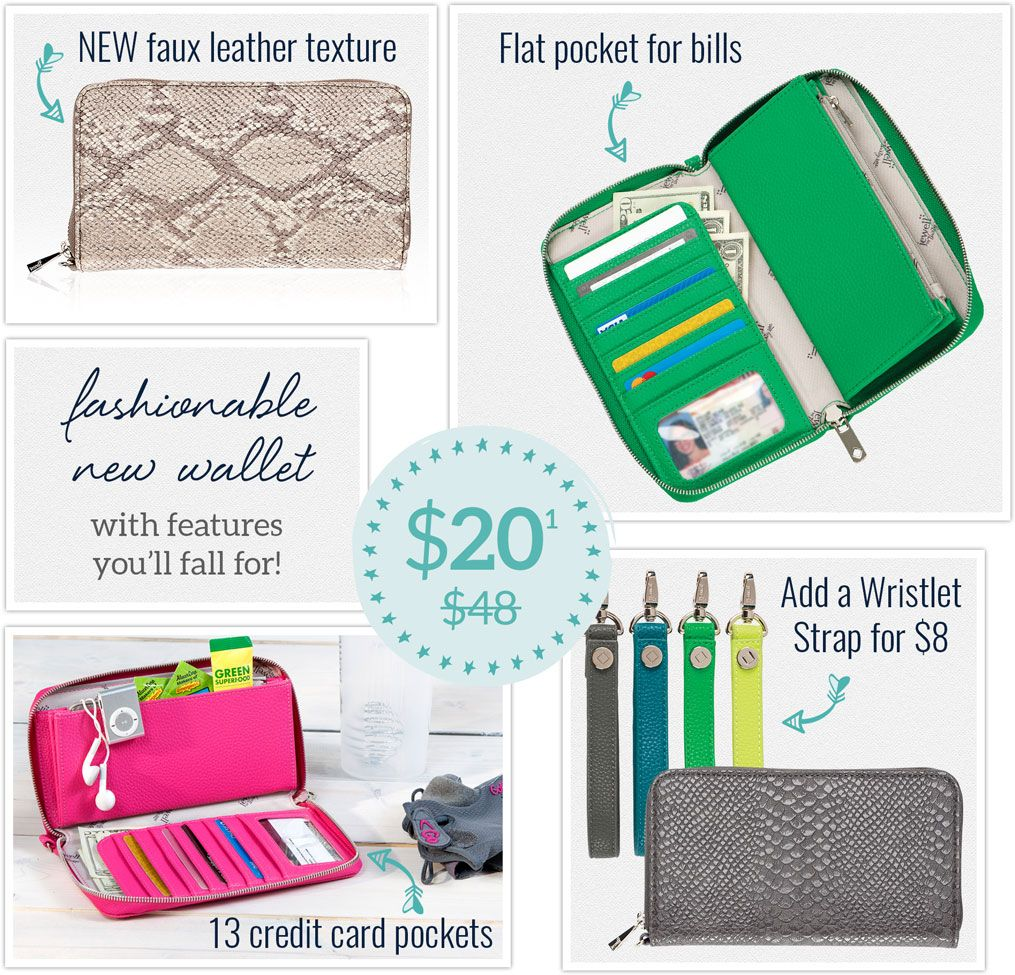 how to clean thirty one wallet