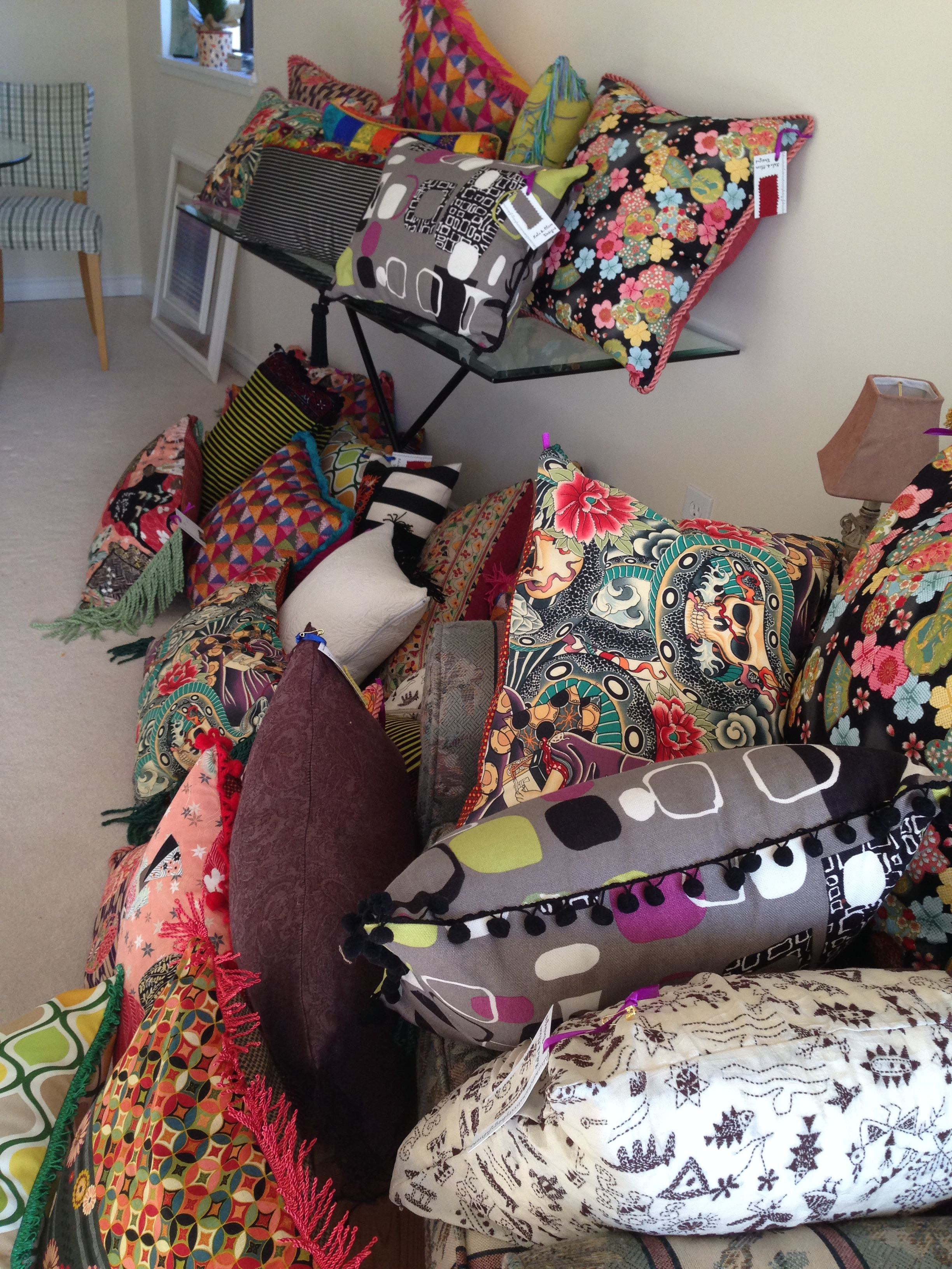 Lola and Olive Designs pillow and quilt party | CUSHION envy ... : pillow and quilt - Adamdwight.com