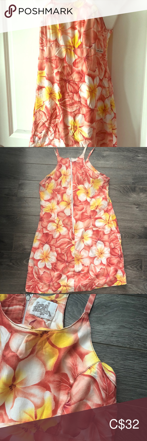 Local Motion short sundress Cute little bright sundress! Great for before/after the beach/pool local motion Dresses Mini #shortsundress