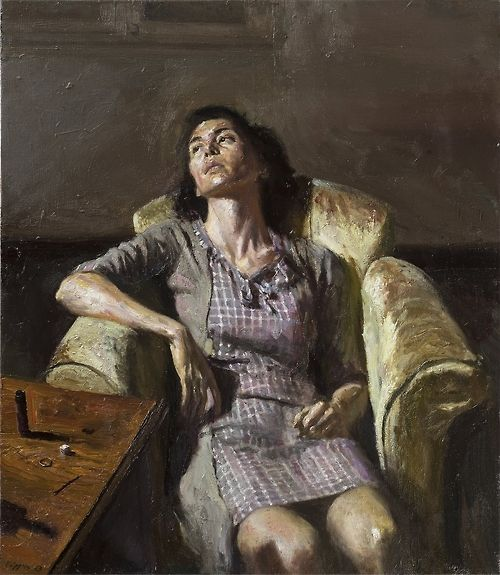 Figurative realism and abstract expressionism: paintings ... |Realistic Figurative Painting