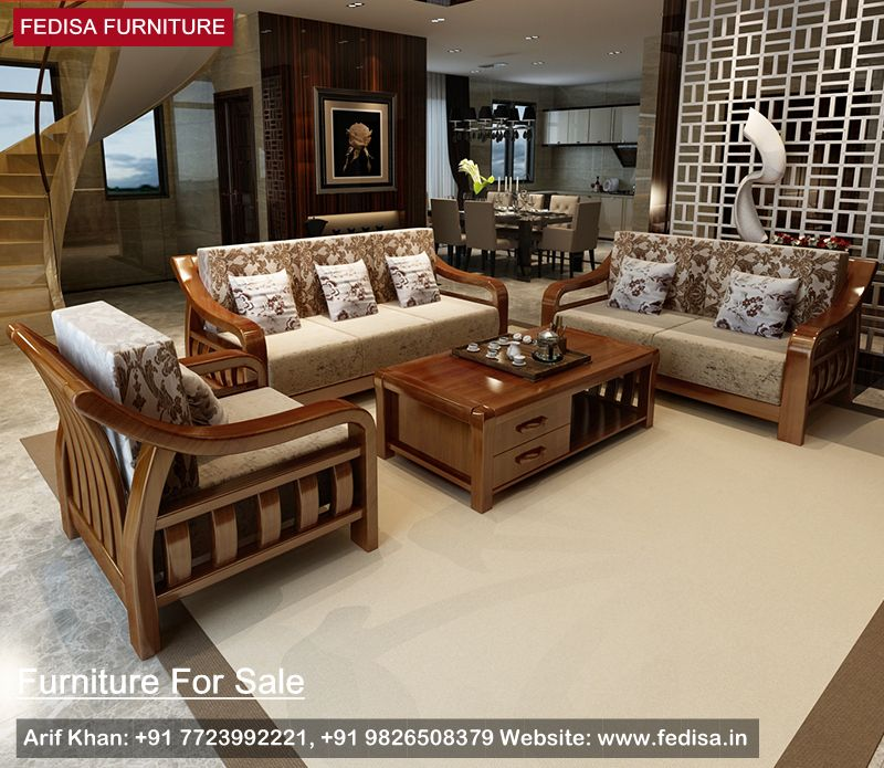 Wooden Sofa Sets For Sale Inspiration And Pictures Fedisa Wooden Sofa Wooden Sofa Set Wooden Sofa Designs