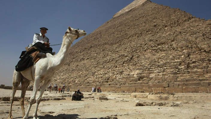 Egypt pyramid uncovered | US dig unearths tomb of pharaoh | SBS News